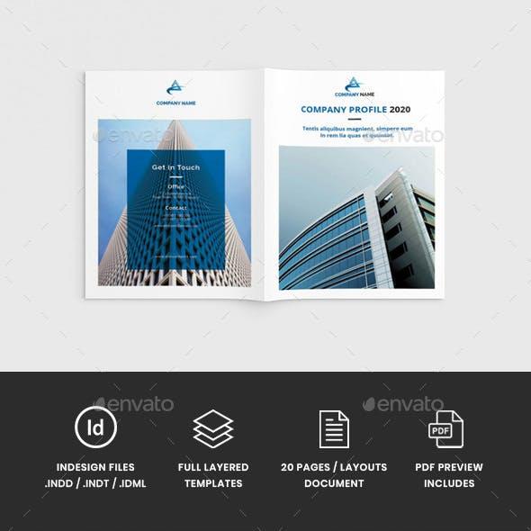 Workz - A4 Business Brochure Template