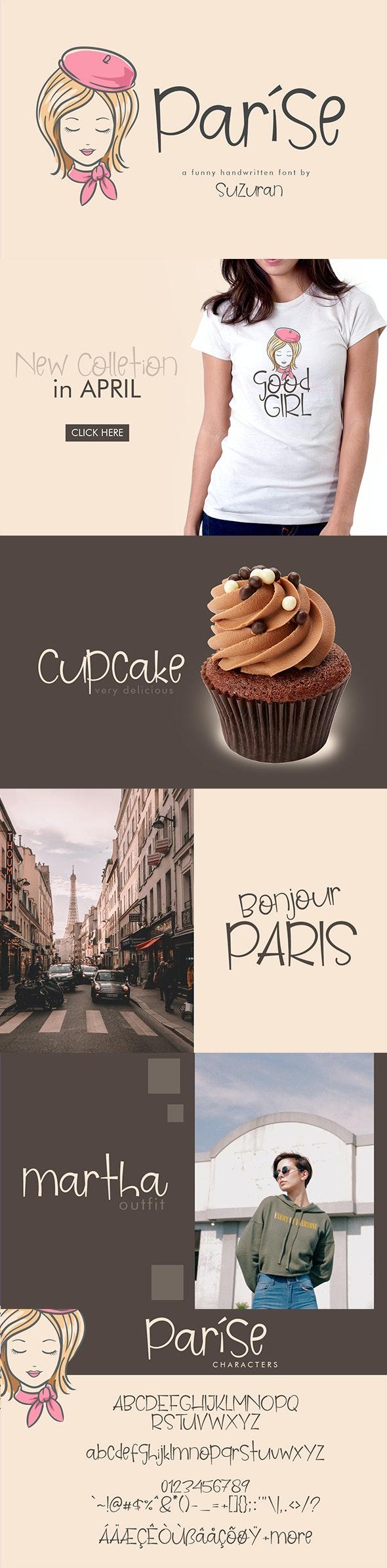 Parise Font Duo - Sans-Serif Fonts