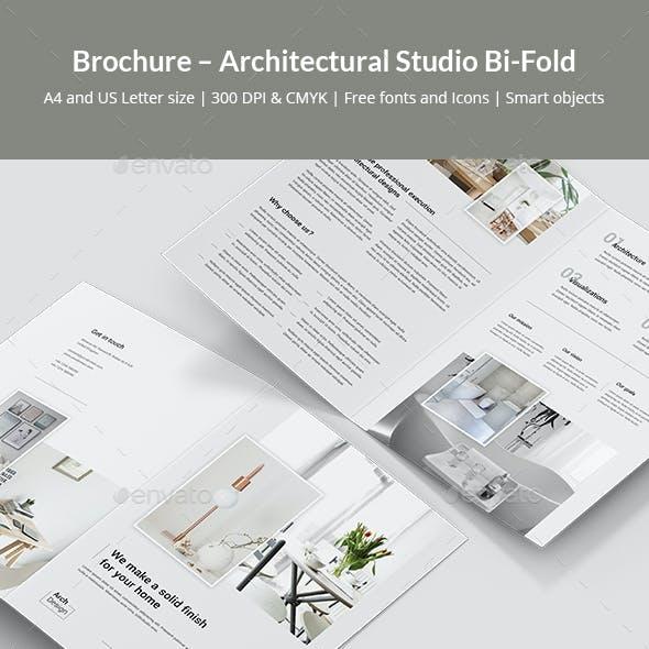 Brochure – Architectural Studio Bi-Fold
