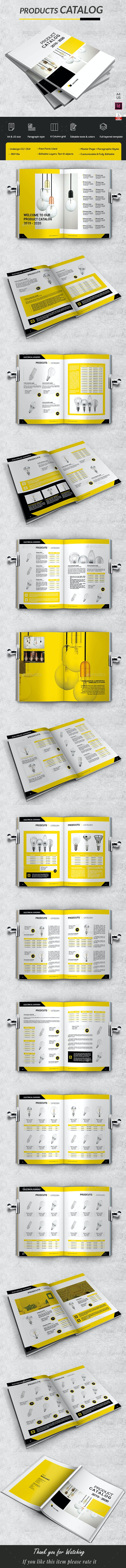 Industrial Catalog Products A4 - Catalogs Brochures