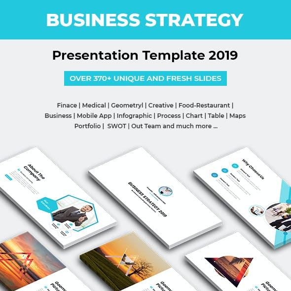 Business Strategy Keynote Template 2019