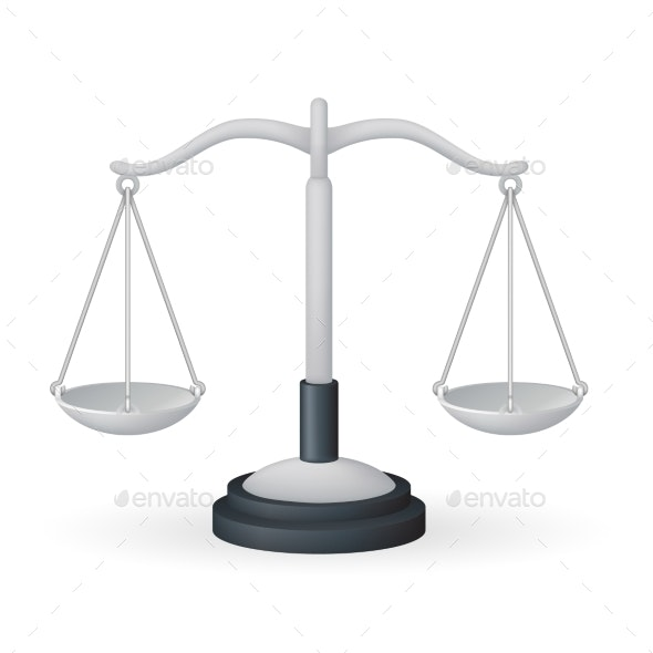 Scales Weight Measurement Equality Balance Measure - Miscellaneous Vectors