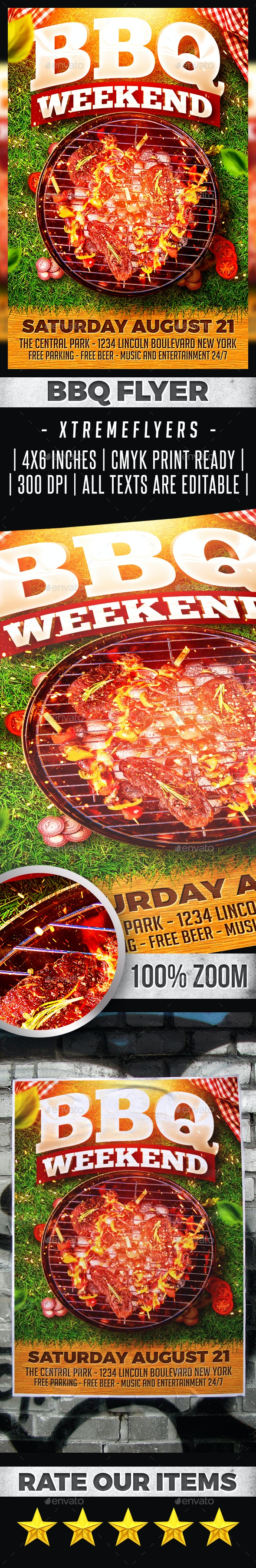 BBQ Flyer - Miscellaneous Events