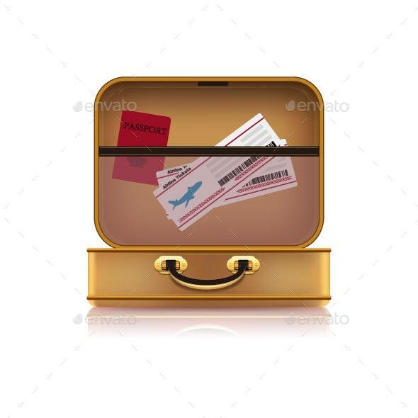 Suitcase - Travel Conceptual
