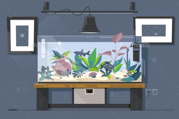 Aquarium - Miscellaneous Vectors