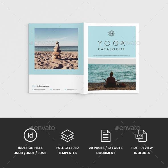Namaste - A4 Yoga Brochure Template