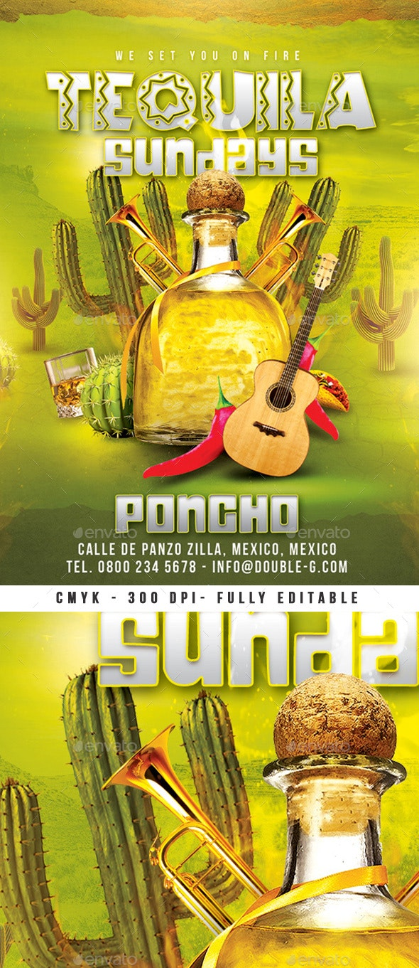 Tequila Sundays Party - Clubs & Parties Events