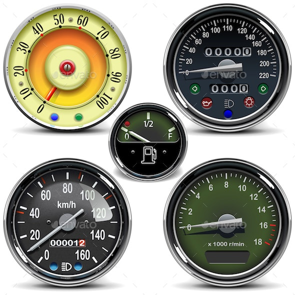 Vector Automotive Speedometers - Industries Business
