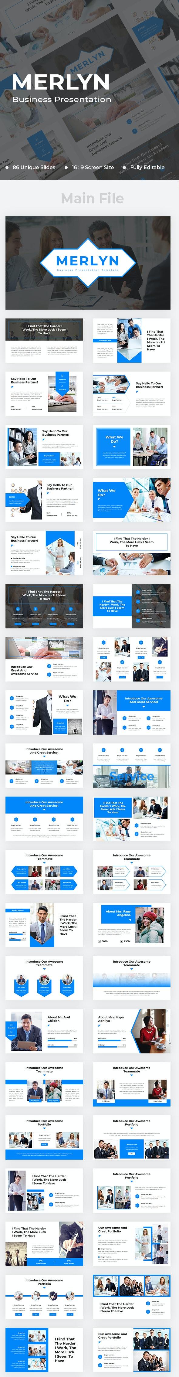 Merlyn Business Keynote - Business Keynote Templates