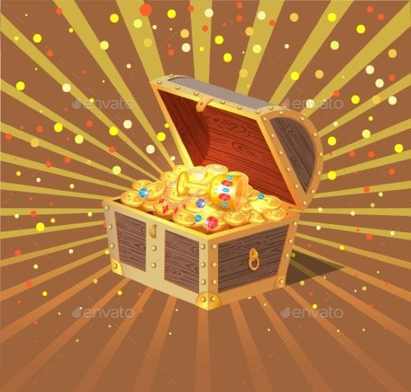 Treasure Chest - Miscellaneous Vectors