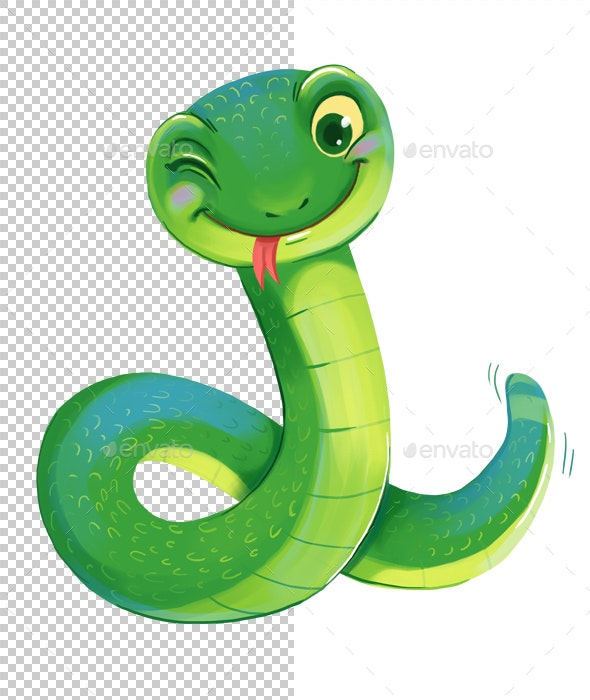 Snake - Characters Illustrations
