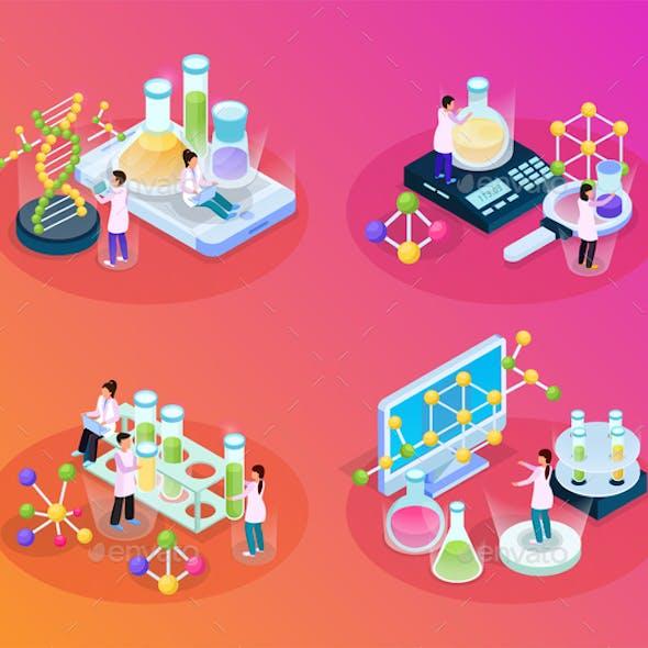 Scientific Tests Isometric Set
