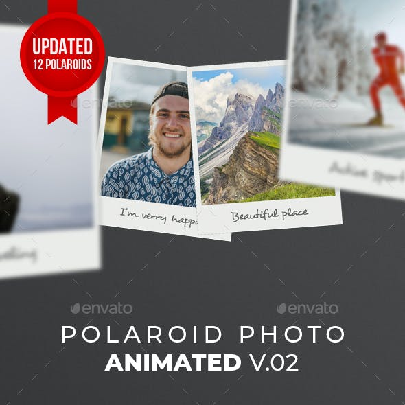Polaroid Photo Animated V02