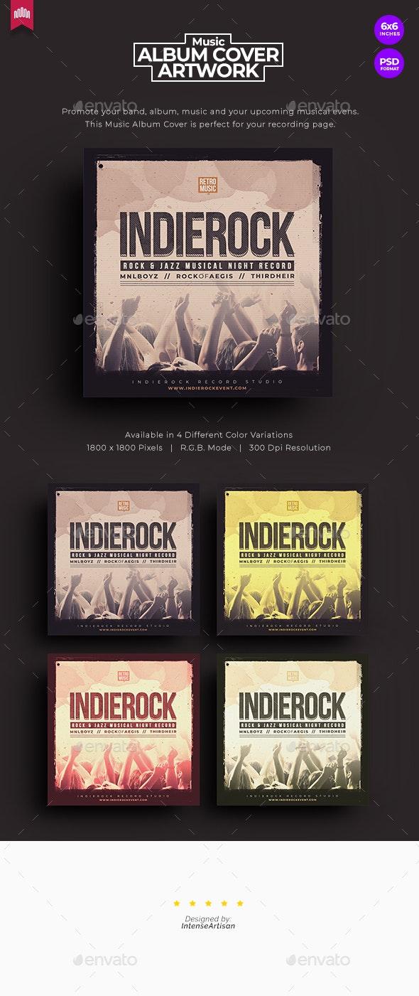 Indie Rock - Music Album Cover Artwork - Miscellaneous Social Media