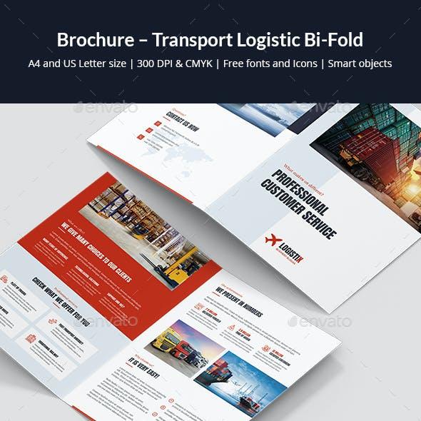 Brochure – Transport Logistic Bi-Fold