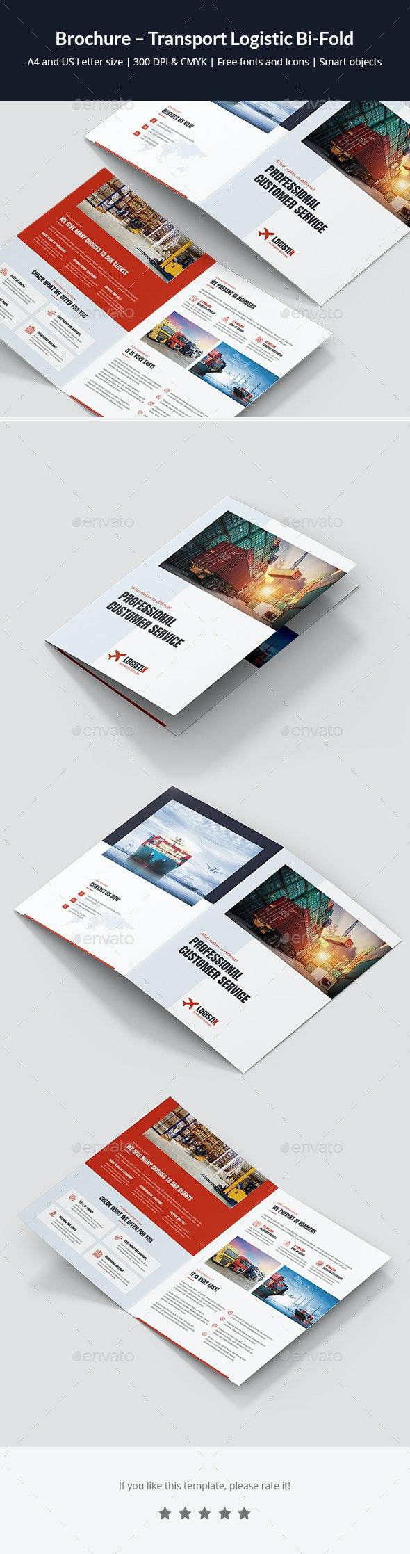 Brochure – Transport Logistic Bi-Fold - Corporate Brochures