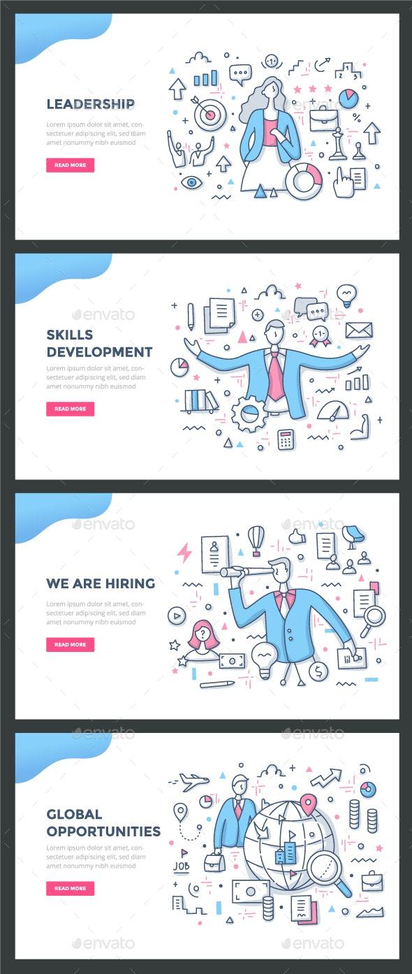Career Color Line Concepts - Concepts Business