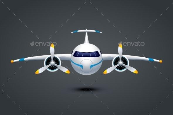 Airplane - Travel Conceptual
