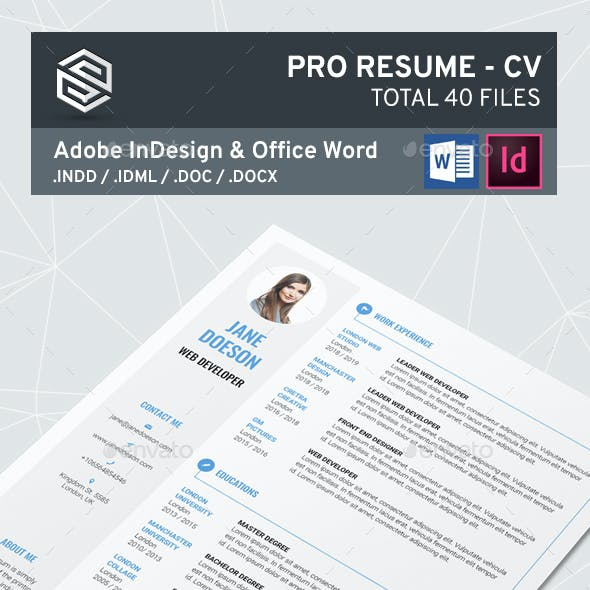Pro Resume CV