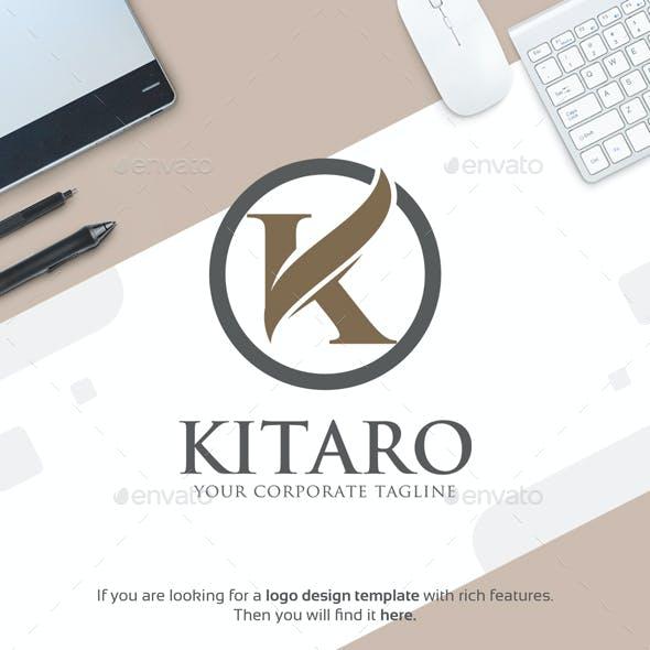 Letter K Logo - Kitaro