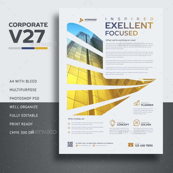 Corporate V27 Flyer