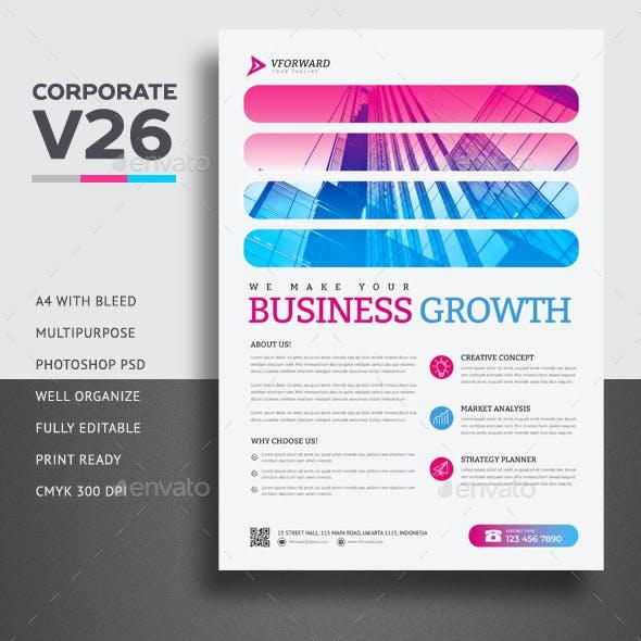 Corporate V26 Flyer