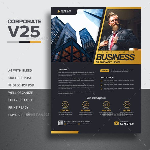 Corporate V25 Flyer