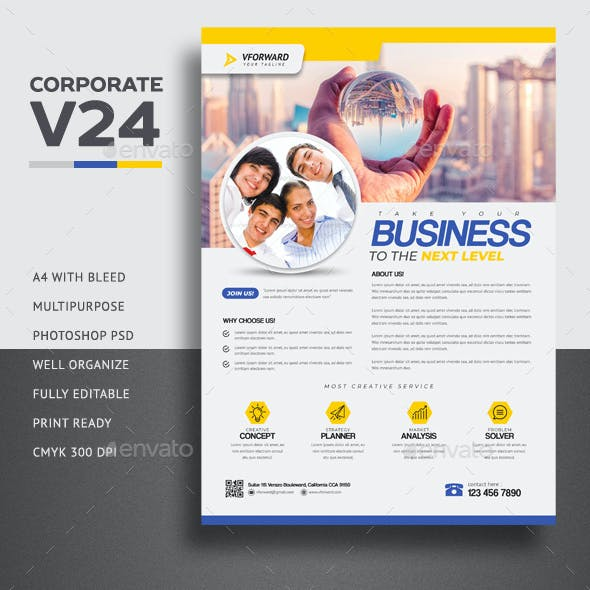 Corporate V24 Flyer