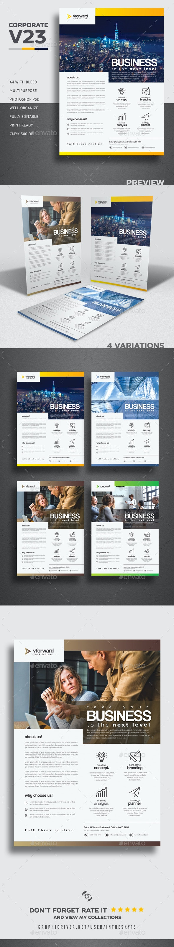 Corporate V23 Flyer - Corporate Brochures