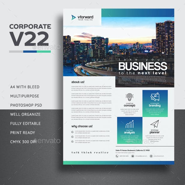 Corporate V22 Flyer