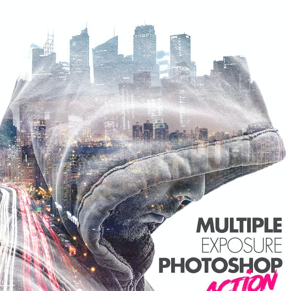 Multiple Exposure Photoshop Action