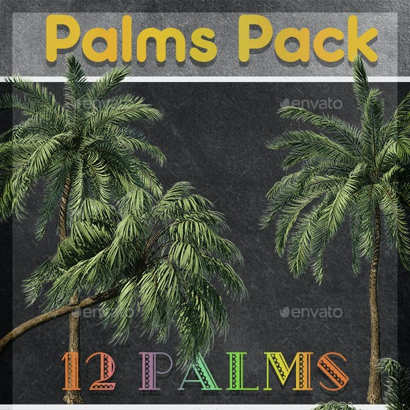Palm Trees Pack