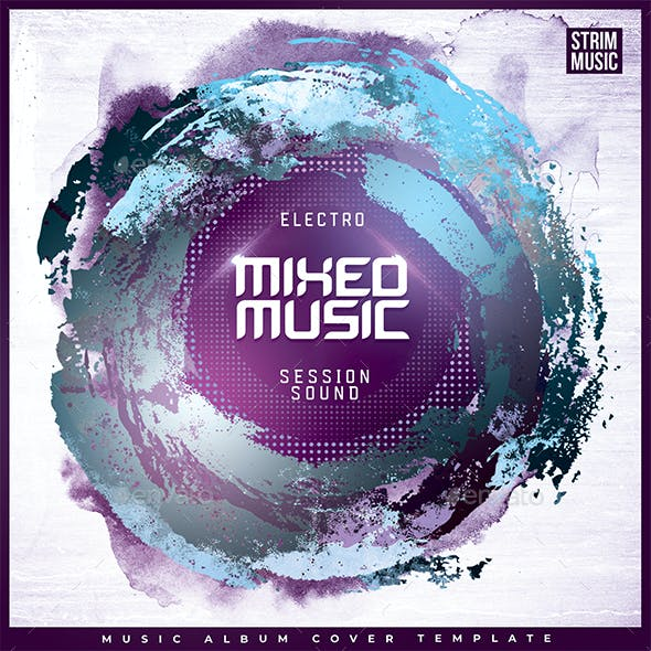 Mixed Music - Music Album Cover Artwork