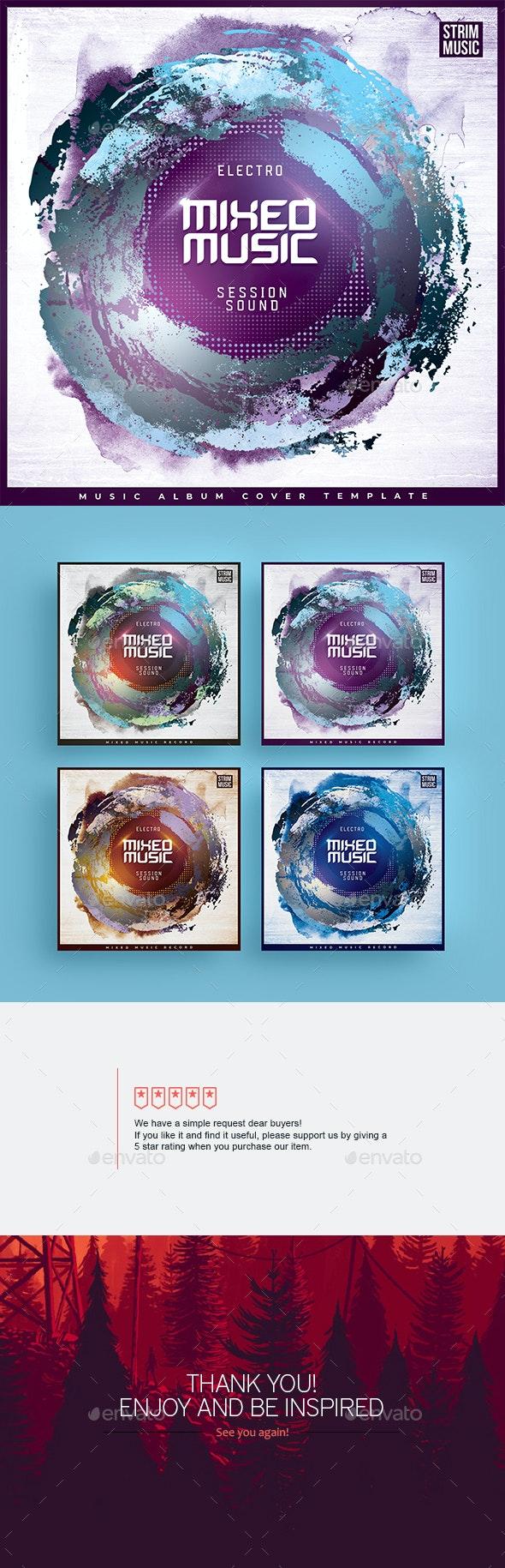 Mixed Music - Music Album Cover Artwork - Miscellaneous Social Media