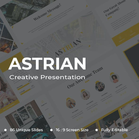 Astrian Creative Google Slides
