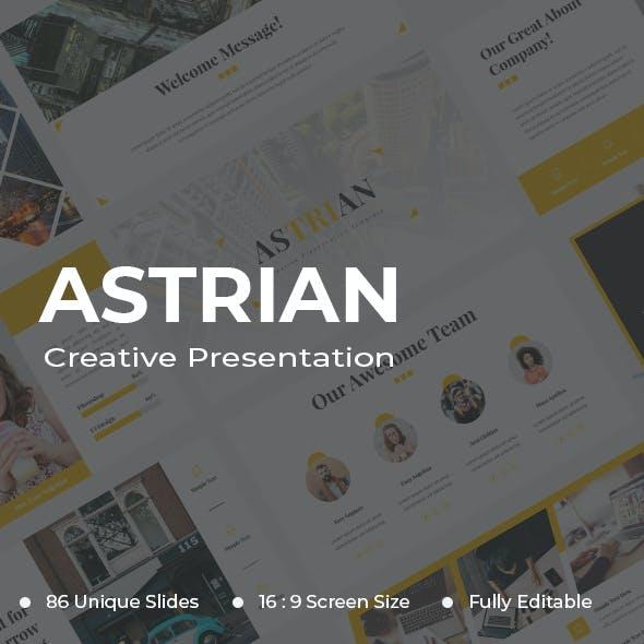 Astrian Creative PowerPoint