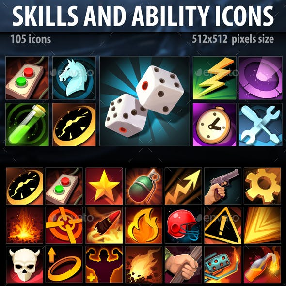Skills and Ability Icons