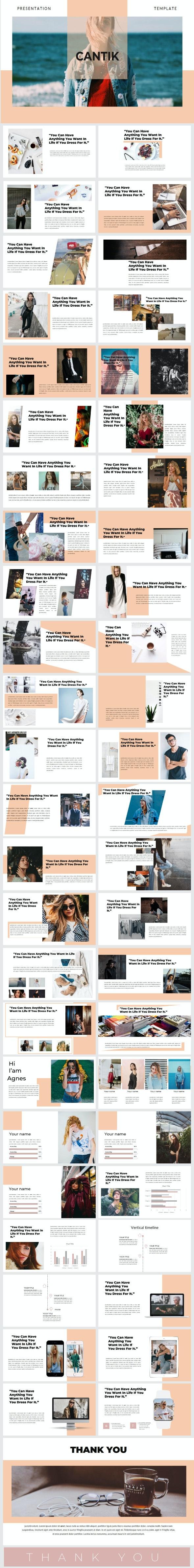 cantik powerpoint - Creative PowerPoint Templates