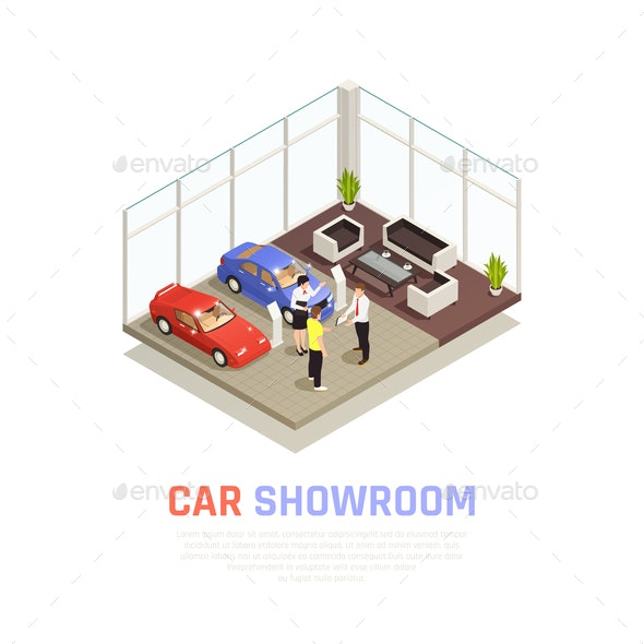 Car Dealership Concept - Retail Commercial / Shopping