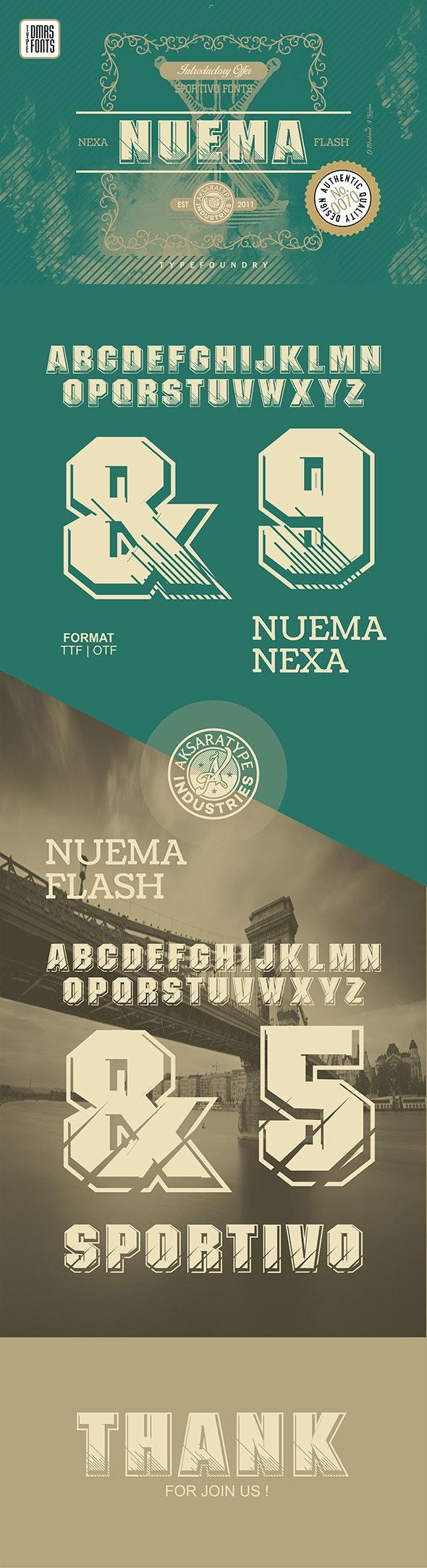 Nuema Fonts - Miscellaneous Sans-Serif