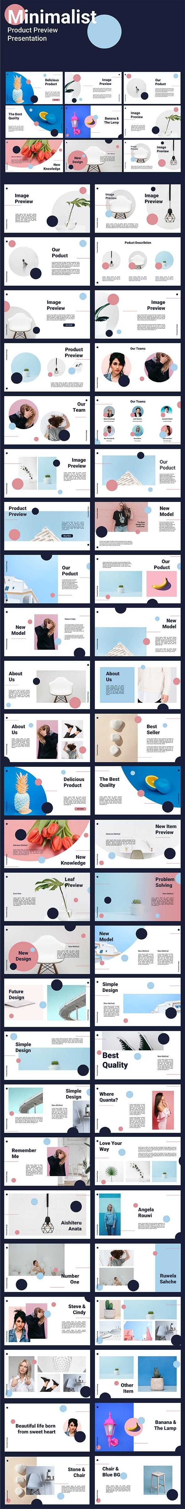 Product Preview - Keynote Minimalist Presentation - Creative Keynote Templates
