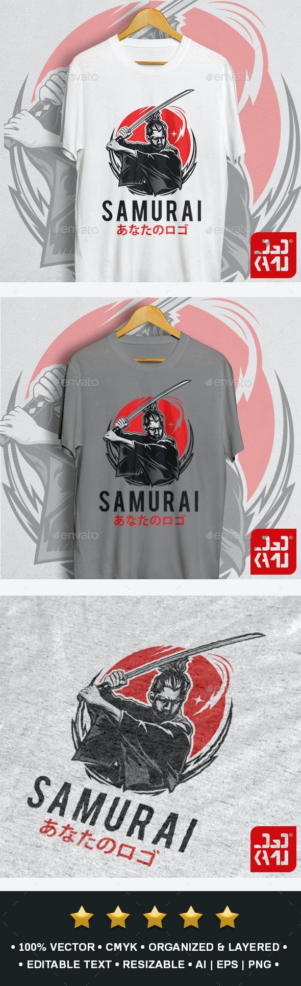 Samurai T-Shirt - Designs T-Shirts