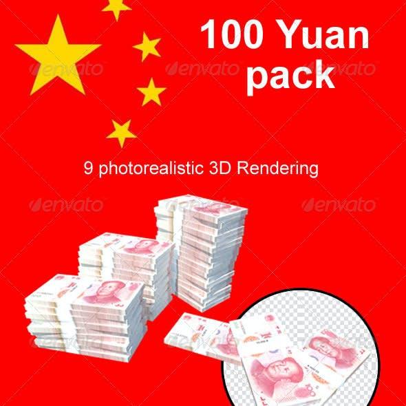100 Yuan // Pack