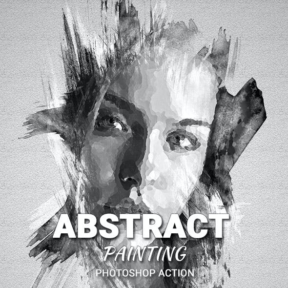 Abstract Painting Photoshop Action