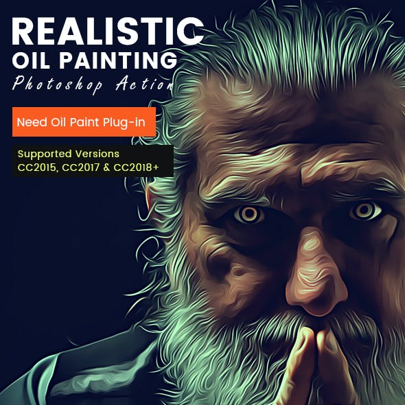 Realistic Oil Painting Action