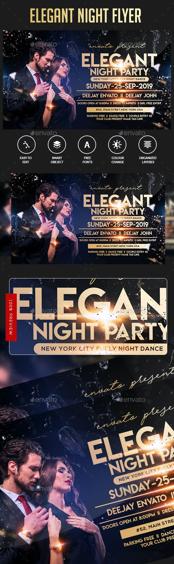 Elegant Flyer Template - Events Flyers