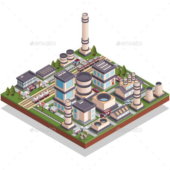 Factory - Buildings Objects
