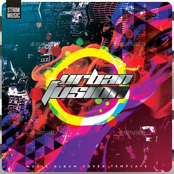 Urban Fusion - Music Album Cover Artwork