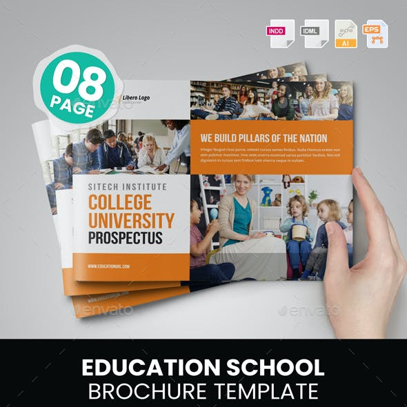 Education Prospectus Brochure v7