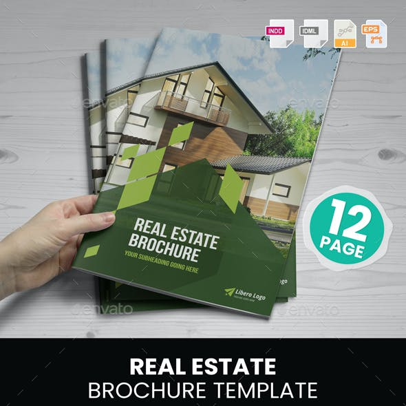 Real Estate Brochure Design v1